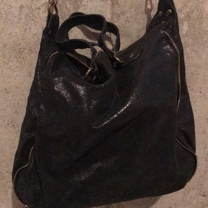 Black Satchel Purse
